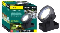 LiTec LED50x1 Garden Light Set Single inc transformer